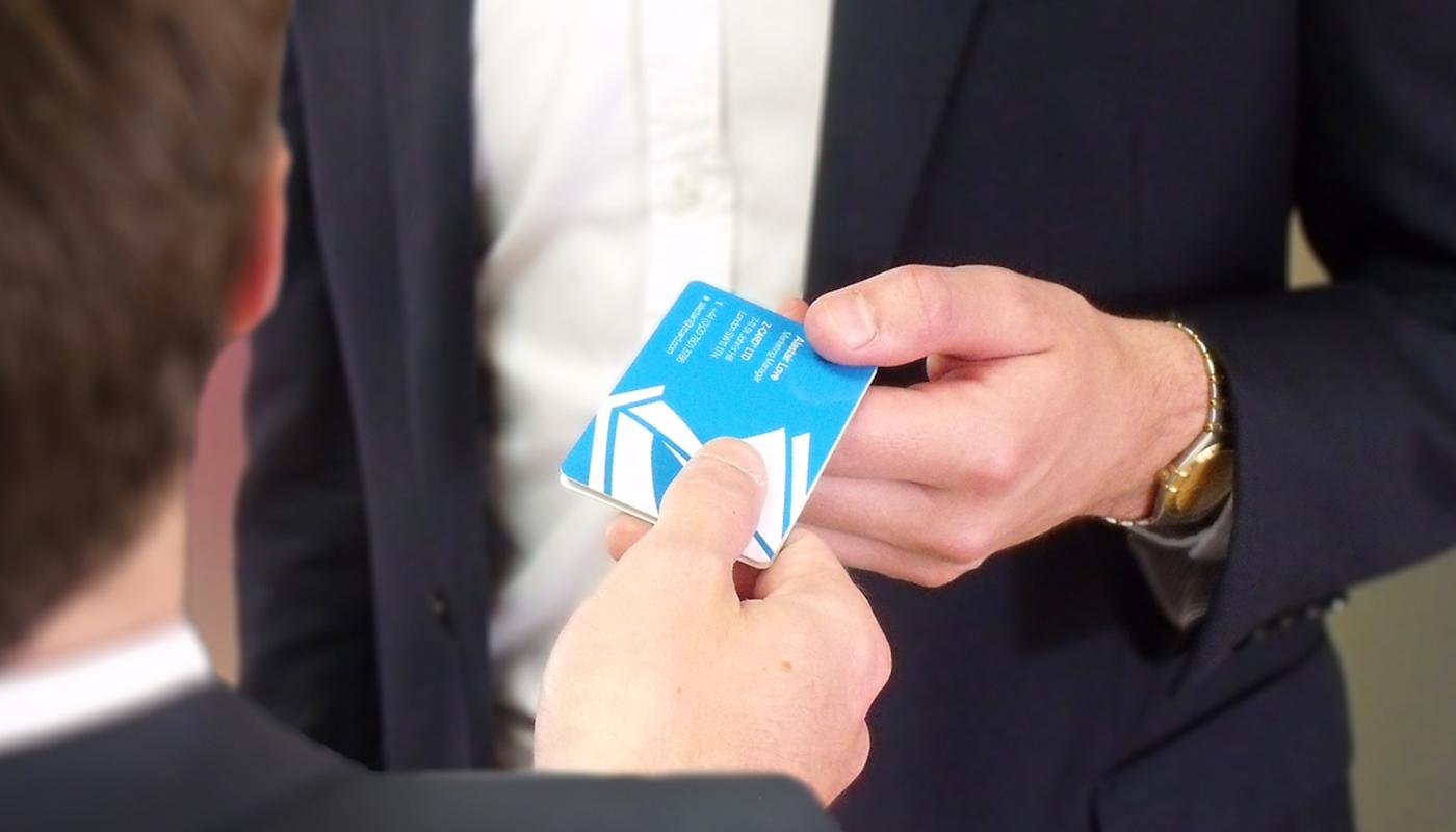 Z-CARD® Businesscard | Burkersroda Design